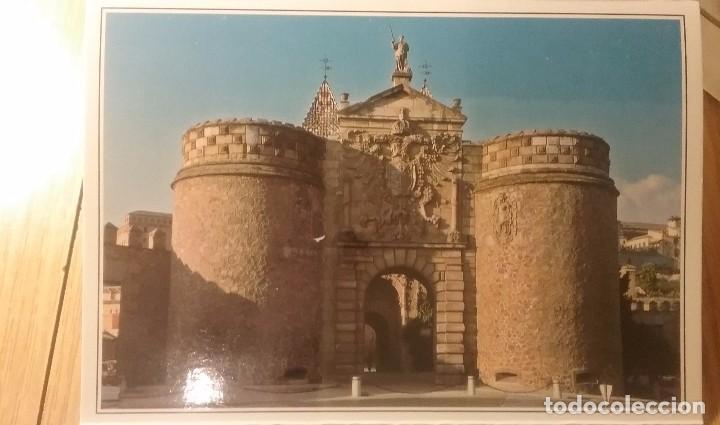 POSTAL DE TOLEDO. PUERTA BISAGRA. SIN CIRCULAR. (Postales - España - Castilla la Mancha Moderna (desde 1940))