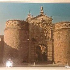 Postales: POSTAL DE TOLEDO. PUERTA BISAGRA. SIN CIRCULAR. . Lote 127262163