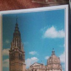 Postales: POSTAL CATEDRAL DE TOLEDO, PUERTA PRINCIPAL. SIN CIRCULAR. . Lote 127530243