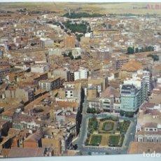 Postales: POSTAL ALBACETE - AEREA. Lote 127597235