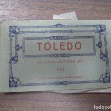 Cartoline: LOTE DE POSTALES DE TOLEDO. 20 TARJETAS POSTALES.. Lote 127918035