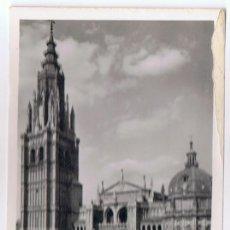 Postales: POSTAL TOLEDO CATEDRAL FACHADA PRINCIPAL . Lote 128133743
