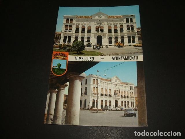 TOMELLOSO CIUDAD REAL AYUNTAMIENTO (Postales - España - Castilla La Mancha Antigua (hasta 1939))