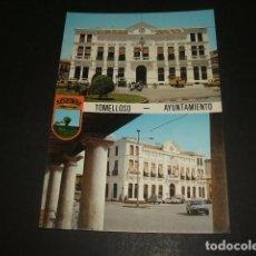 Postales: TOMELLOSO CIUDAD REAL AYUNTAMIENTO. Lote 128577991