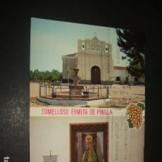 Postales: TOMELLOSO CIUDAD REAL ERMITA DE PINILLA. Lote 128579391