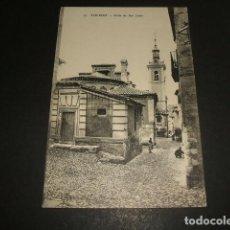 Postales: TOLEDO CALLE DE SAN JUSTO. Lote 128712535