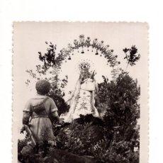 Postales: FUENCALIENTE. CIUDAD REAL. APARICION DE NUESTRA SEÑORA LA SANTISIMA VIRGEN DE LOS BAÑOS.FOTO RAMIREZ. Lote 128731031