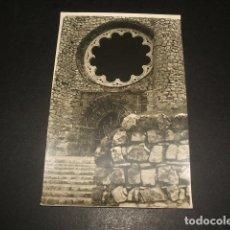 Postales: CALATRAVA LA NUEVA CIUDAD REAL CASTILLO IGLESIA FOTOGRAFIA TAMAÑO POSTAL. Lote 128853499