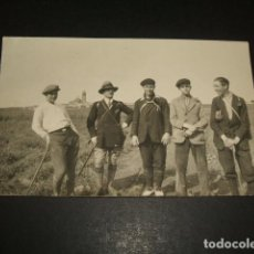 Postales: CABANILLAS DEL CAMPO GUADALAJARA 1927 POSTAL FOTOGAFICA GRUPO DE EXCURSIONISTAS. Lote 128856479