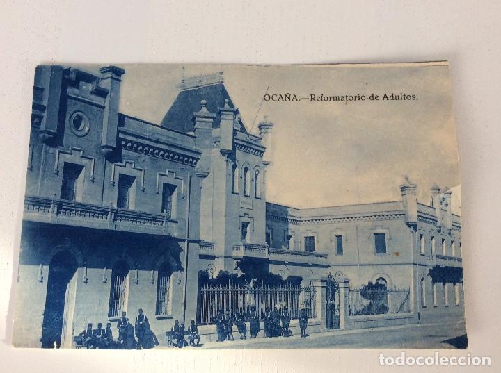 CUATRO ANTIGUAS FOTOGRAFÍAS DE OCAÑA TOLEDO (Postales - España - Castilla La Mancha Antigua (hasta 1939))