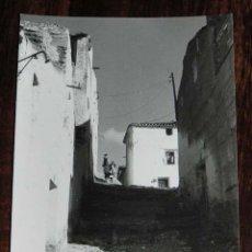 Postales: FOTOGRAFIA DE ELCHE DE LA SIERRA, ALBACETE, MIDE 11 X 7,5 CMS.. Lote 176617415