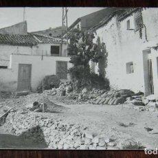 Postales: FOTOGRAFIA DE VILLATOYA, ALBACETE, MIDE 11 X 7,5 CMS. . Lote 131482706