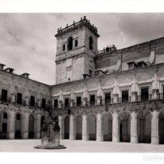 Postales: UCLES,CUENCA.- MONASTERIO, PATIO Y TORRE HERRERIANO. Lote 131885150