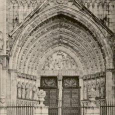 Postales: TOLEDO – 32.- CATEDRAL – PUERTA DEL PERDON – LINARES. SIN CIRCULAR. Lote 132411754