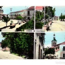 Postales: CARRION DE CALATRAVA(CIUDAD REAL).- VISTAS DEL PUEBLO. Lote 132524718