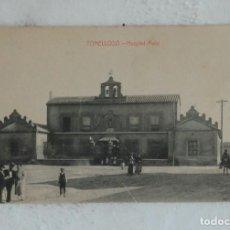 Postales: POSTAL TOMELLOSO ( CIUDAD REAL ) HOSPITAL ASILO - FOT. L. SAUS - SIN CIRCULAR. Lote 132607522
