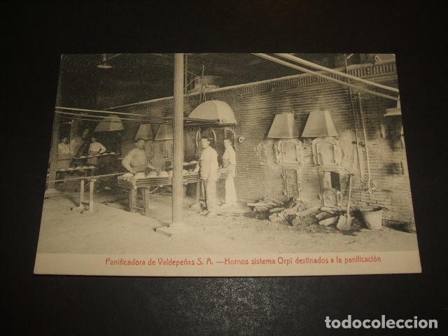 VALDEPEÑAS CIUDAD REAL PANIFICADORA HORNOS SISTEMA ORPI DESTINADOS A LA PANIFICACIÓN (Postales - España - Castilla La Mancha Antigua (hasta 1939))