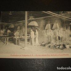 Postales: VALDEPEÑAS CIUDAD REAL PANIFICADORA HORNOS SISTEMA ORPI DESTINADOS A LA PANIFICACIÓN. Lote 132682382
