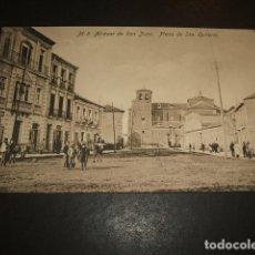 Postales: ALCAZAR DE SAN JUAN CIUDAD REAL PLAZA DE SANT QUITERIA ED. FABRICA POSTALES CASA REYES GRANADA. Lote 132719366