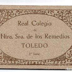 Postales: COLECCIÓN ENTERA EN LIBRILLO ORIGINAL SIN ESTRENAR, REAL COLEGIO.NTRA.SRA. DE LOS REMEDIOS TOLEDO.S2. Lote 132723250