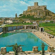 Cartes Postales: ALMANSA (ALBACETE) PISCINA CASTILLO - EDITA FITER - EDITADA EN 1967 - S/C. Lote 133153542