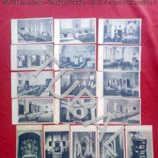 Postales: TUBAL TUBAL MANICOMIO TOLEDO 20 POSTALES 19X13 CM 400 GRS. Lote 133214314