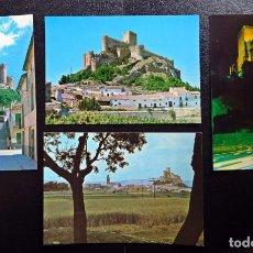 Postales: 4 POSTALES DE ALMANSA, DE LOS AÑOS 60, SIN CIRCULAR. Lote 133410438