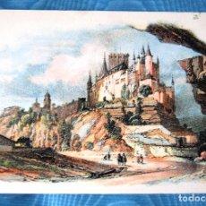 Postales: EL ALCAZAR DE SEGOVIA.. Lote 133536042