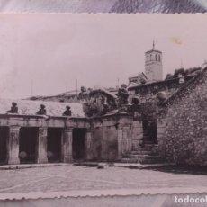 Postales: POSTAL DE OCAÑA, TOLEDO, FUENTE ROMANA Y TORRE. Lote 133843630