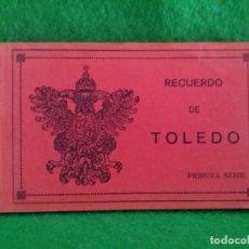Postales: 20 TARJETAS POSTALES DE TOLEDO 1 SERIE HELIOTIPIA ARTISTICA ESPAÑOLA ARRIBAS. Lote 133852590