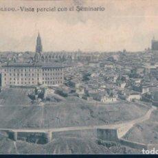 Postales: POSTAL TOLEDO - VISTA PARCIAL CON EL SEMINARIO - GRAFOS. Lote 134160038