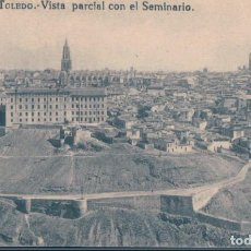 Postales: POSTAL TOLEDO 25 - VISTA PARCIAL CON EL SEMINARIO - GRAFOS. Lote 134160246
