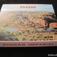 Postales: 20 POSTALES TOLEDO ACORDEÓN TIRA TACO ALBUM. Lote 134436190