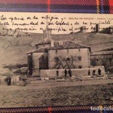 Postales: MOLINA DE ARAGON (GUADALAJARA).- ERMITA DE LA SOLEDAD 21. Lote 135056330