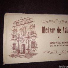 Postales: ALCAZAR DE TOLEDO 2° SERIE 11 POSTALES. Lote 135688621