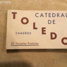 Postales: ÁLBUM DE POSTALES DE TOLEDO HAUSER Y MENET. Lote 137534990
