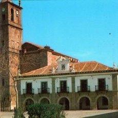 Cartoline: ALCAUDETE DE LA JARA - PLAZA REGIONES Y AYUNTAMIENTO. Lote 137602798