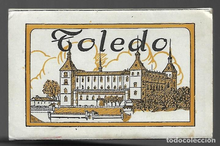 BLOC DE 12 POSTALES EN ACORDON DE - TOLEDO - 2º SERIE - EDIT. HELIOTIPIA ARTISTICA ESPAÑOLA (Postales - España - Castilla La Mancha Antigua (hasta 1939))