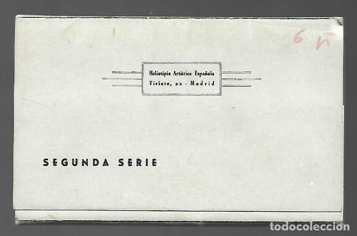 Postales: BLOC DE 12 POSTALES EN ACORDON DE - TOLEDO - 2º SERIE - EDIT. HELIOTIPIA ARTISTICA ESPAÑOLA - Foto 6 - 137651058