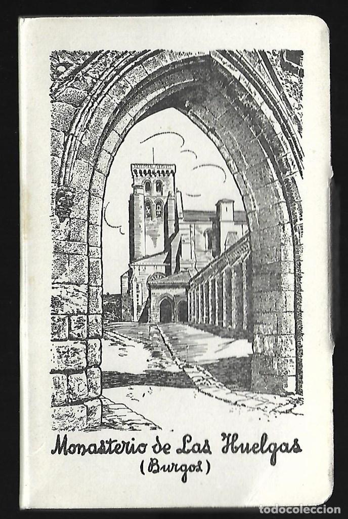 BLOC DE 10 POSTALES EN ACORDON DE - MONASTERIO DE LAS HUELGAS - BURGOS - FOTO- GARCIA GARRABELLA- (Postales - España - Castilla La Mancha Antigua (hasta 1939))