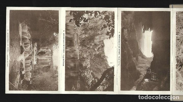 Postales: BLOC DE 10 POSTALES EN ACORDEON DEL - MONASTERIO DE PIEDRA - - Foto 2 - 137659330
