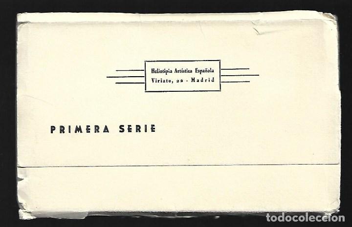 Postales: BLOC DE 10 POSTALES EN ACORDEON DE - AVILA - EDIT. HELIOTIPIA ARTISTICA ESPAÑOLA - Foto 5 - 137660558