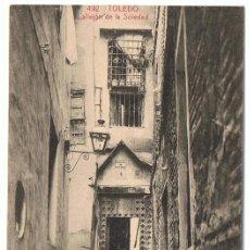 Postales: TARJETA POSTAL TOLEDO CALLEJÓN DE LA SOLEDAD Nº 492 . Lote 138691574