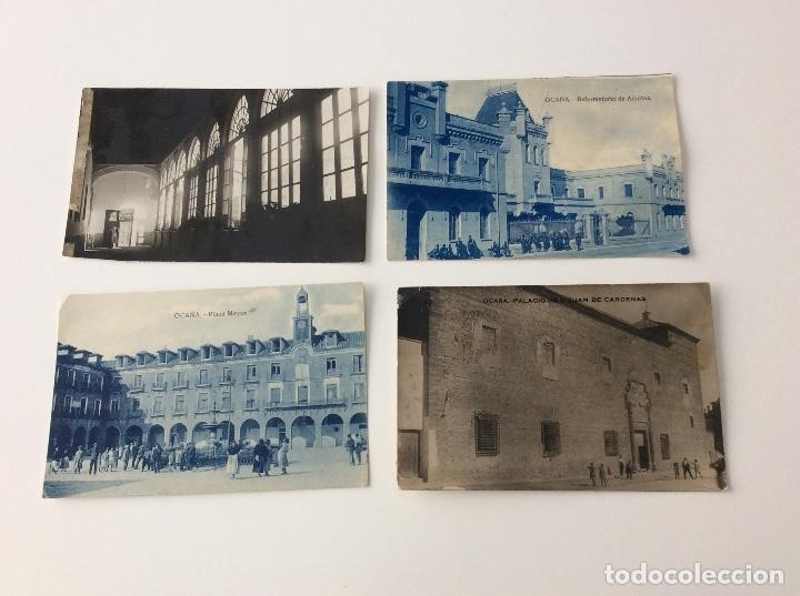 Postales: Cuatro antiguas fotografías de Ocaña Toledo - Foto 5 - 130129303