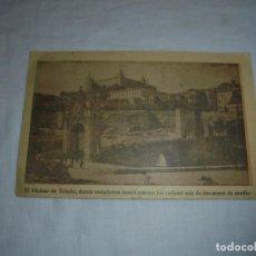 Postales: EL ALCAZAR DE TOLEDO DONDE RESITIERON HEROICAMENTE LOS CADETES MAS DE DOS MESES DE ASEDIO.LEPANTO . Lote 139213902