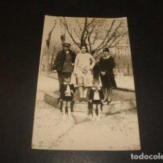 Postales: GUADALAJARA FAMILIA RAMIREZ JUGANDO EN PARQUE POSTAL FOTOGRAFICA. Lote 139228214