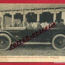 Postales: POSTAL CIUDAD REAL , VALDEPEÑAS, CARRUAJE Y PATIO DE LA FABRICA DE LUIS PALACIOS , ORIGINAL, P377. Lote 139301354