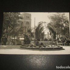 Postales: PUERTOLLANO CIUDAD REAL GLORIETA DE D. EMILIO PORRAS. Lote 139354734