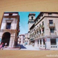 Postales: ALMANSA ( ALBACETE ) AYUNTAMIENTO PLAZA CAUDILLO. Lote 139961722