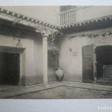 Postales: TOLEDO CASA DEL GRECO PATIO. Lote 140876714